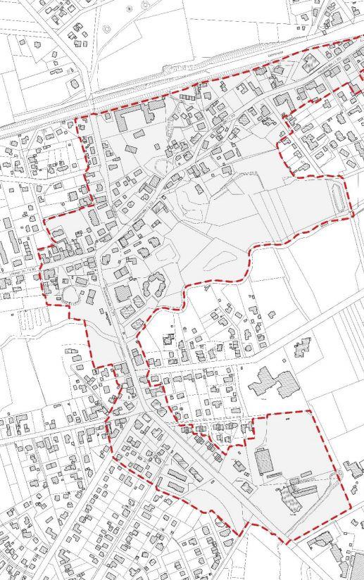 Sanierungsgebiet Jesteburg Ortsmitte (Ausschnitt)